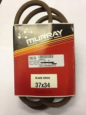 "NEW  GENUINE  MURRAY  TRACTOR COMMON  77""  DECK DRIVE BELT  037X34MA."