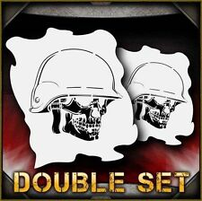 Skull 34 B Airbrush Stencil Template Airsick