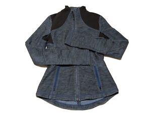 Lululemon Women's Define Jacket Size 6 Full Zip Blue Denim Yoga Fitness C9