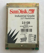 """Sandisk Industrial Grade 2GB 2.5"""" IDE PATA Flash Drive Solid State Disk SSD"""
