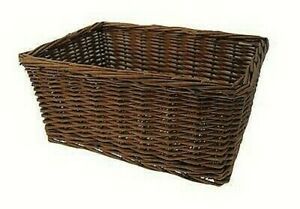 588160217 - Basket IN Wicker Rectangle, Brown, 43x33x19h CM, Without Gan