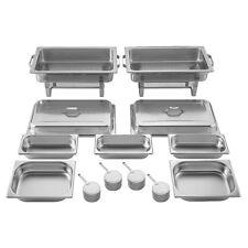 2 Chafing Dish / Speisewärmer 16 teilig - Batania