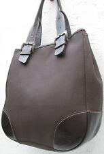 -AUTHENTIQUE  sac à main LONGCHAMP toile et  cuir TBEG vintage bag