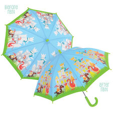 Cambio De Color Para Niños Umbrella-Caballeros Y Dragones