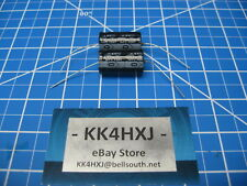 35V 3300uF Electrolytic Axial Capacitors - lot of 2