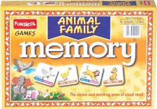 Educational Games Age 6+ Funskool Animal Families Memory Players 2-4