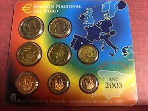 Spagna Espagne Spanien 2003 Divisionale FDC