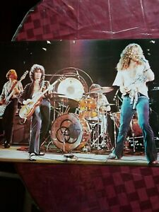 Led Zeppelin Zoso Live On Stage Vintage Poster 22 X 34