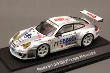 Porsche 911 Gt3 Rsr #77 12th Le Mans 2004 (2nd Lmgt) 1:43 Model EBBRO
