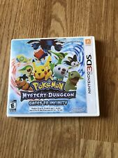 Pokemon Mystery Dungeon: Gates to Infinity (Nintendo 3DS, 2013) Cib CC