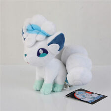 "Pokemon Center Alolan Alola Vulpix Plush Toy Figure Stuffed Doll 8"" Gift US Ship"
