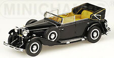 Maybach Zeppelin DS8 CABRIO CABRIOLET 1930-37 NERO 1:43 Minichamps