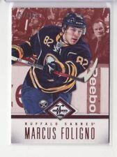 2012-13 Limited #112 Marcus Foligno /299 Base Card - Flat S/H