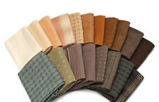 10 Fat Quarters -Textured Homespun Assorted Yarn-dyed Woven Plaid Fabric M223.18