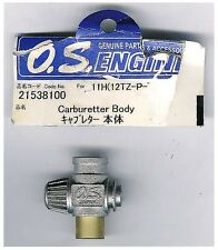 OS Engine 21538100 Carburetor Body # 11H Slide .12 TZ for RC Car Discontinued