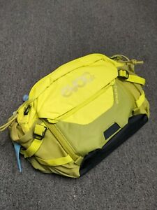 Yellow Neon Green - Evoc Hip Pack Pro 3, with Bladder, hydration pack