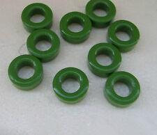 10 Pcs Green  Transformers Ferrite Toroid Core  10mm x 6mm x 5mm