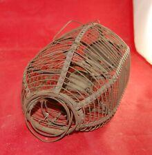 Antique Primitive Metal Wire Mouse Rat Rodent Trap Cage Rusty