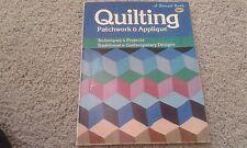 Quilting Patchwork & Applique - Vintage, copyright 1981 - color pictures