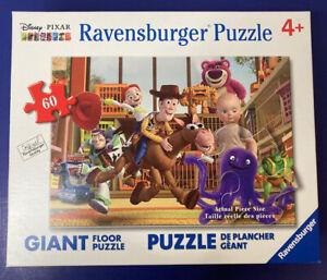 Disney Pixar Ravensburger 60 Large Toy Story 3 Giant Floor Puzzle Movie COMPLETE