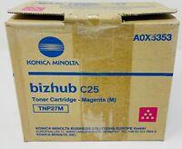 Konica Minolta A0X5353 TNP27M Toner Original Magenta Für BIZHUB C25 Serie
