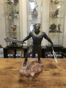 BLACK PANTHER MARVEL GALLERY KILLMONGER 9in PVC FIGURE STATUE