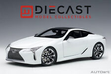 AUTOART 78846 LEXUS LC500 (METALLIC WHITE) 1:18TH SCALE
