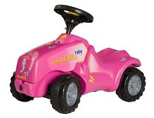 New Rolly Toys Pink Mini Tractor - No Pedals - Rolly Carabella Minitrac Age 1+