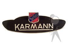 "Side Badge: ""Karmann Ghia"" VW 141-853-901 A"