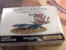 40K Warhammer AOS Daemons of Tzeentch Herald of Tzeentch on Burning Chariot Seal