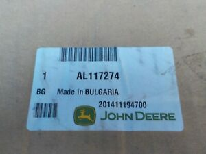 Genuine John Deere Armrest AL117274
