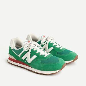 J.Crew x New Balance® 574 sneakers Varsity Green size 8 Item AV791 New w/box!
