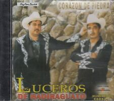 LOS LUCEROS DE BADIRAGUATO CORAZON DE PIEDRA CD NEW SEALED