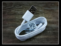 Micro USB Cable cargador for Samsung Galaxy Note 4/5/6 S4 S5 S6 S7 edge Blanco