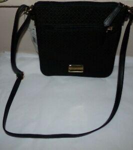 NWT Women's Tommy Hilfiger Purse/ CROSS BODY Bag~ BLACK~OS