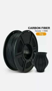 USA Seller PLA Carbon Fiber 3D Printer Filament 1.75mm 1KG/2.2LB Spool Material