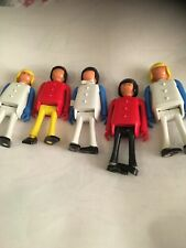 5 X ( Older Type ) Playmobil Figures  Made In W Germany