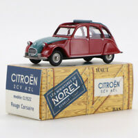 NOREV CITROEN 2CV 1/43 AZL MINIATURES METAL COLLECTION VERT AGAVE CAR MODEL NEW