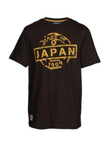 Genuine Suzuki Men's Made in Japan T-Shirt, Colour Brown