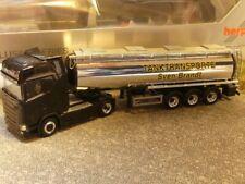 1/87 Herpa Scania CS HD Tank Sattelzug Sven Brandt Tanktransporte 932684