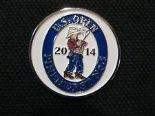"""NEW 2014 US Open Golf Magnamark 1"""" Magnetic Ball Marker Spotter Pinehurst No. 2"""