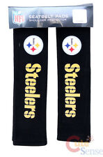 NFL Pittsburgh Steelers Seat Belt Cover Shoulder Pad NFL Auto Accessory