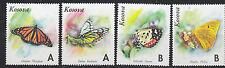Kosova / Kosovo Butterflies 4v ** mnh PRIVATE ISSUE