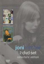 JONI MITCHELL 2 DVD SET COLLECTOR'S EDITION (A LIFE STORY + PAINTING WITH WORDS)