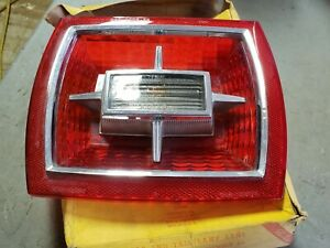 NOS 1966 Ford Galaxie 500 XL 7 Litre Tail light Lens Made by Glo Brite Lamp