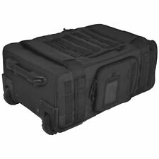 Maletas y equipaje negro con 4 ruedas
