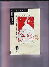 SPEAK MEMORY-VLADIMIR NABOKOV-1ST SC 1989-NR FN-ONE OF THE GREAT AUTOBIOGRAPHIES