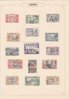 nigeria used stamps ref r8363