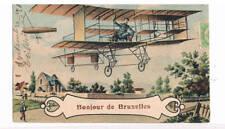 Seltene Ansichtskarte an Graf Zeppelin persönlich - Exposition de Bruxelles 1910