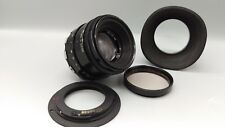 1990 Zebra HELIOS 44 58mm f/2 M42 Screw Bokeh Lens CANON EOS EF with AF Confirm